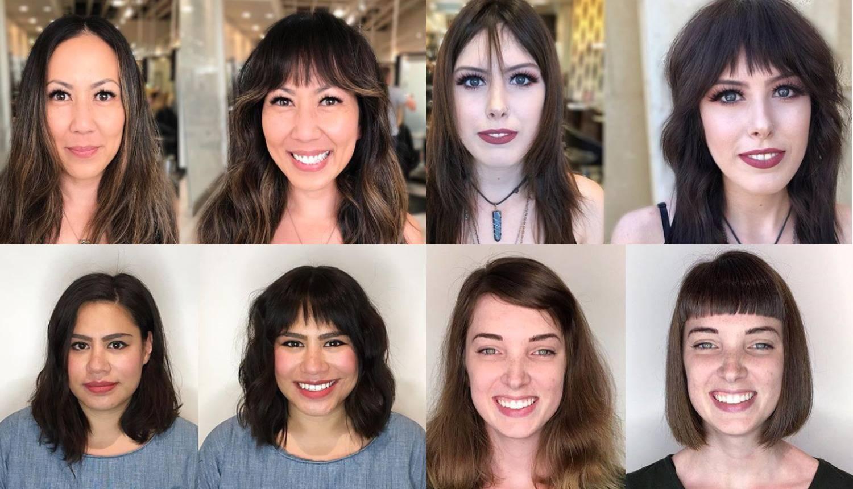 Kakva transformacija! Pogledaj kako šiške mijenjaju izgled lica