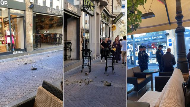 Zagreb: Pa ovo je nekoga moglo ubiti! Odlomio se komad fasade