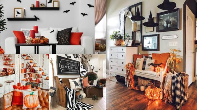 Dekorirajte dom za Noć vještica: Bundeve stavite u košaru, a za ugođaj su odlične šarene svijeće