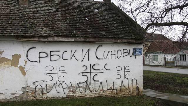 Gotova istraga u Vukovaru: Sve grafite 'Srbija' ispisivali dječaci