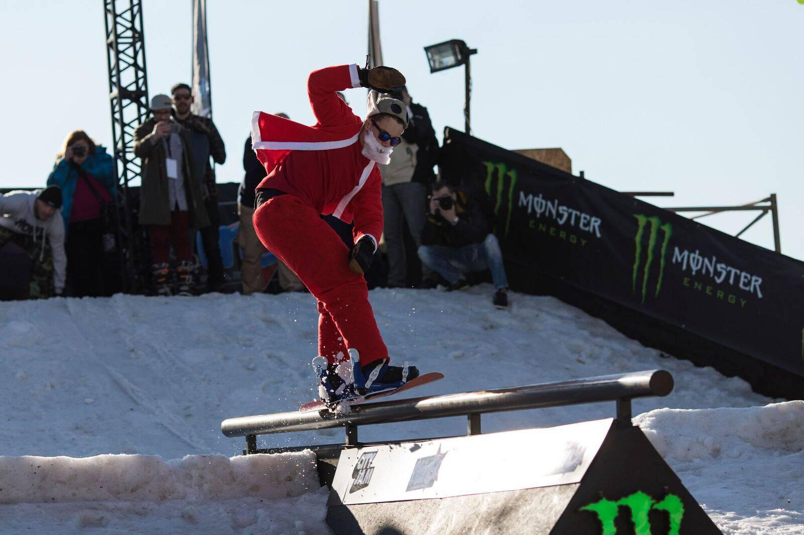 Snowboard na Gatu Karoline Riječke, Slovenac opet slavio