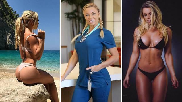 Najseksi medicinska sestra Instagrama: Ovo su moje tajne