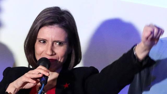 Zagreb: Izborni stožer Katarine Peović