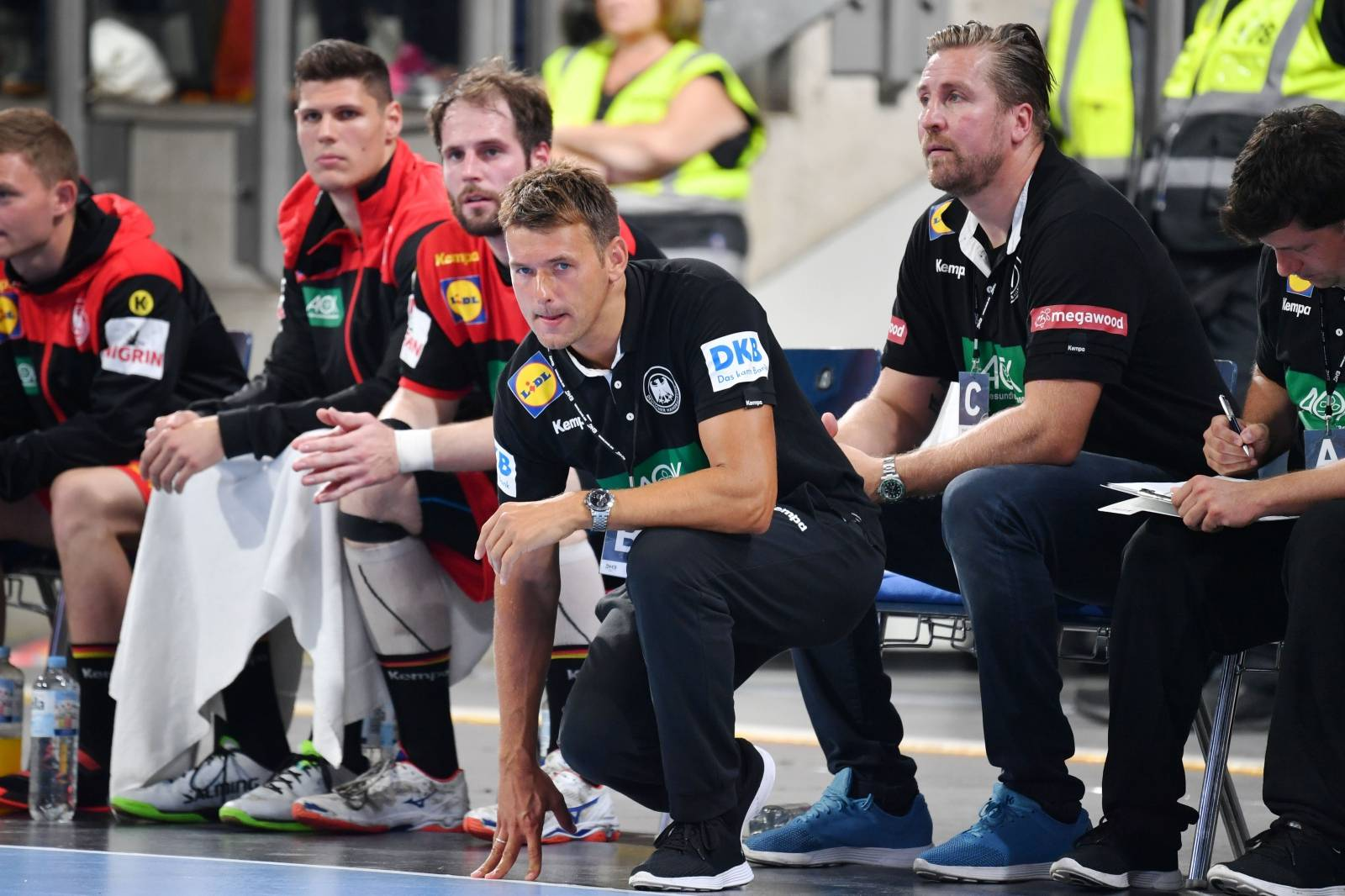 Handball Laenderspiel / Germany-Kosovo 28-17.