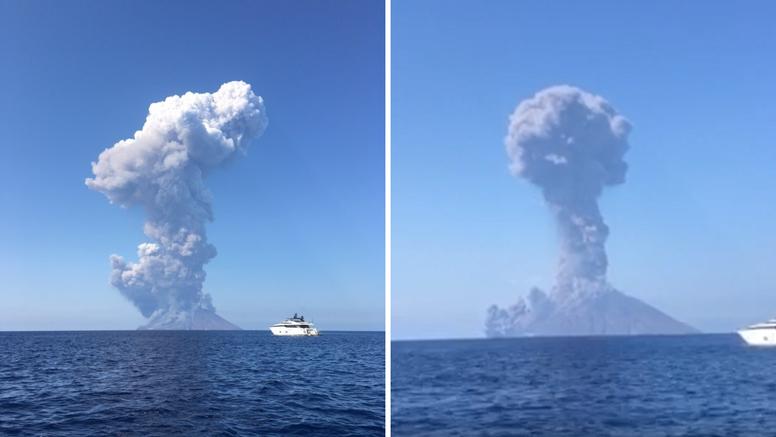 Zbog erupcije vulkana poginuo turist: 'Bilo je zastrašujuće'