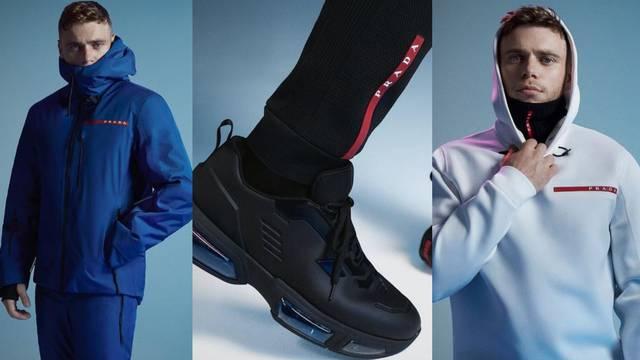 Nova kolekcija Prada Linea Rossa inspirirana je skijanjem