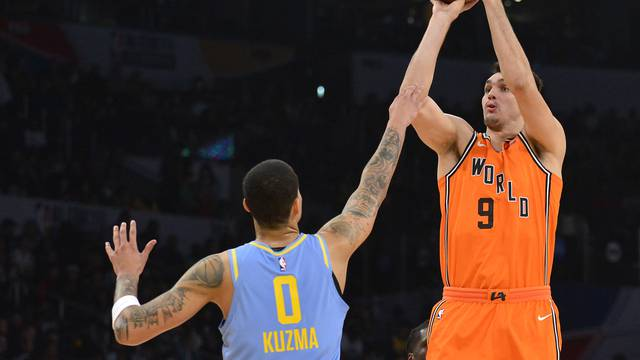 NBA: Rising Stars Challenge-U.S. at World