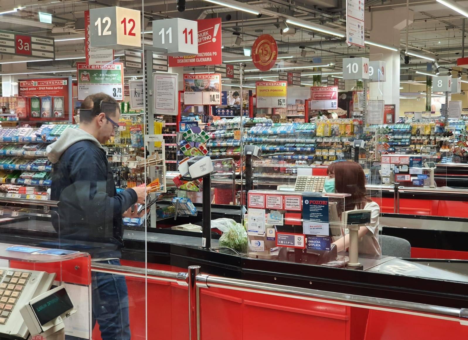 SPAR se kroz različite mjere zaštite brine o svojim kupcima