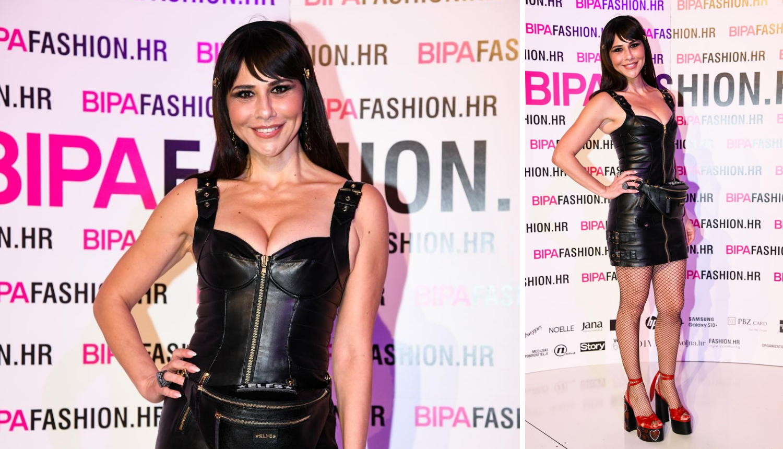Bornino vamp izdanje: Otkrila atribute u crnoj kožnoj haljini
