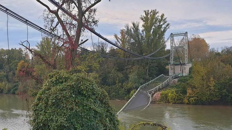 U Francuskoj se srušio most, poginuli su djevojčica i vozač