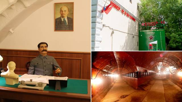 Ušli smo u Staljinov bunker na dubini od 65 m: 'Imamo model atomske bombe, teži 4,5 tona'