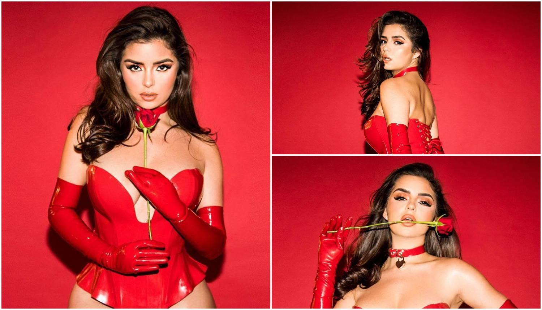 Demi je objavila fotke u bodiju od lateksa: 'Udaj se za mene'