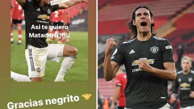Cavaniju prijeti kazna zbog rasizma: Napisao je 'crnjo'
