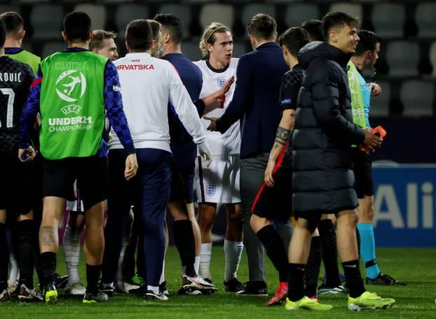 UEFA Under 21 Championship - Group D - Croatia v England