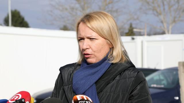 Sisak: Kristina Ikić-Baniček o smještaju u kontejnerskom naselju