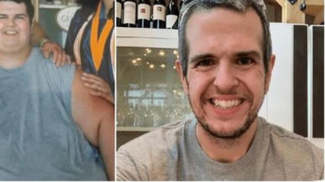 Imao je 317 kila, a kad se riješio brze hrane i počeo vježbati, smršavio je i dosegnuo 90 kila
