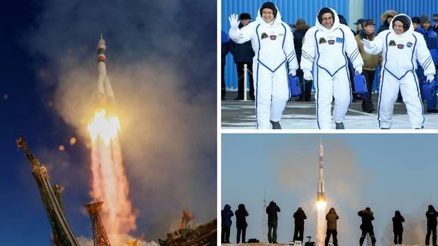 Bit će 4 mjeseca u svemiru: Tri su astronauta poletjela na ISS