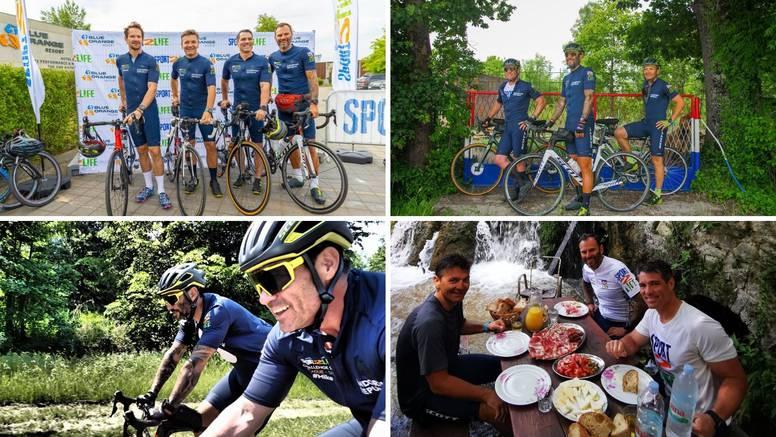 Biciklirali 1200 km od Praga do Splita - promovirali zdrav život, ali i sve ljepote Hrvatske