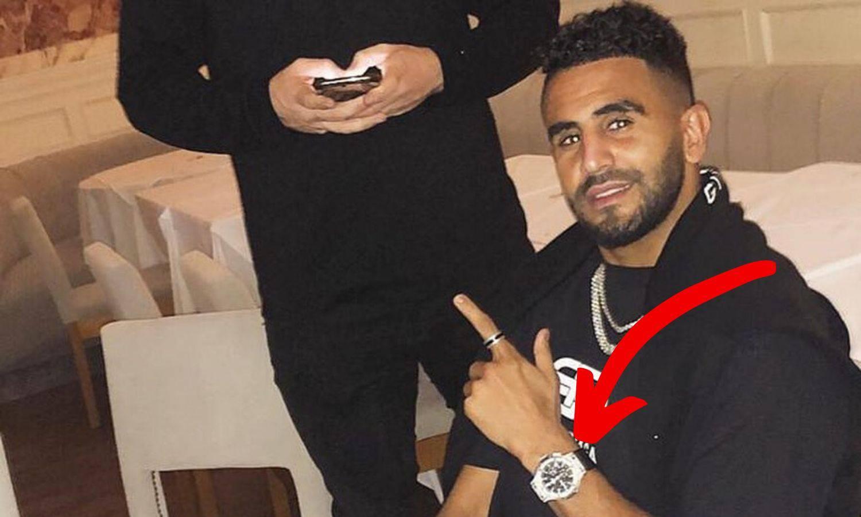 Kakav 'ulov': Lopovi Mahrezu ukrali sat vrijedan 230.000 £
