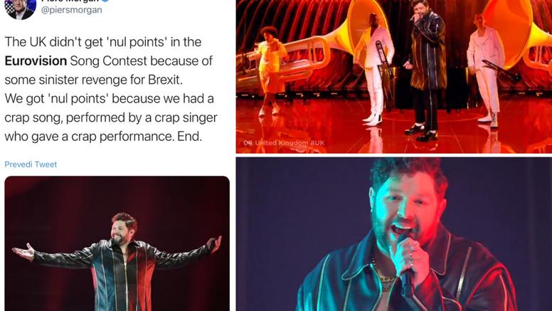 'Dobili smo nula bodova jer nam je pjesma bila sr*nje, kao i pjevač i njegova cijela izvedba'