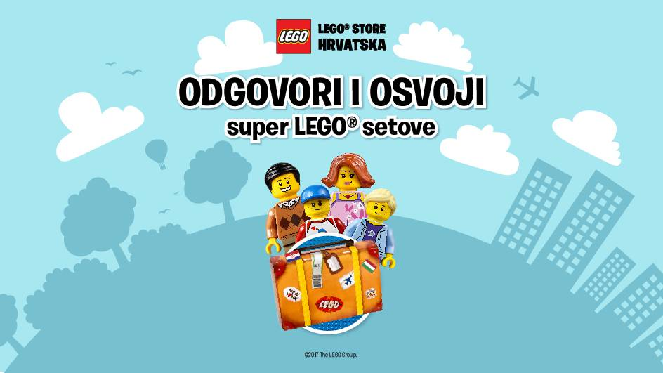 Dobitnici LEGO nagradnog natječaja - kviza