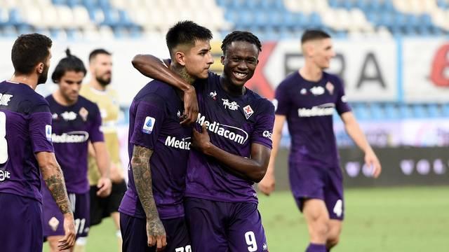 italian Serie A soccer match - SPAL vs ACF Fiorentina