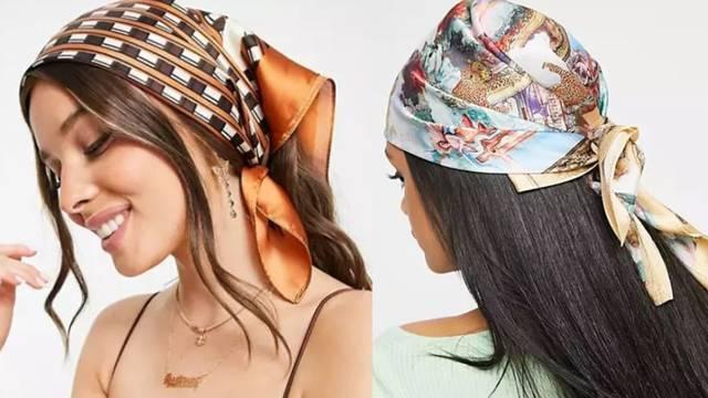 Baka je u modi: Prekrijte kosu chic maramom s retro motivima