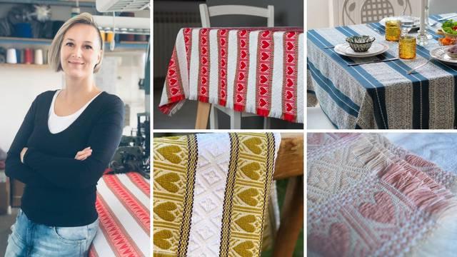 Čuvarica tradicijskih motiva: Ivana je jedina tkalja koja kod nas izrađuje bakine 'uspomene'