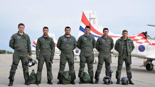 'Krila oluje' odradila su prvi let sa svim pilotima nove postave