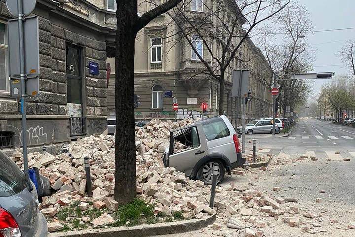 Zagreb Je Podrhtavao I U Noci Slovenija Nam Poslala Pomoc 24sata