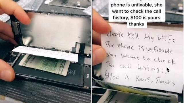 Popravljao iPhone i pronašao poruku: 'Reci da je mrtav, žena mi želi vidjeti povijest poziva'
