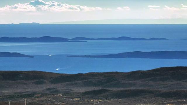 Predivan prizor s vrha Svilaje: Snimio naše otoke do Italije...