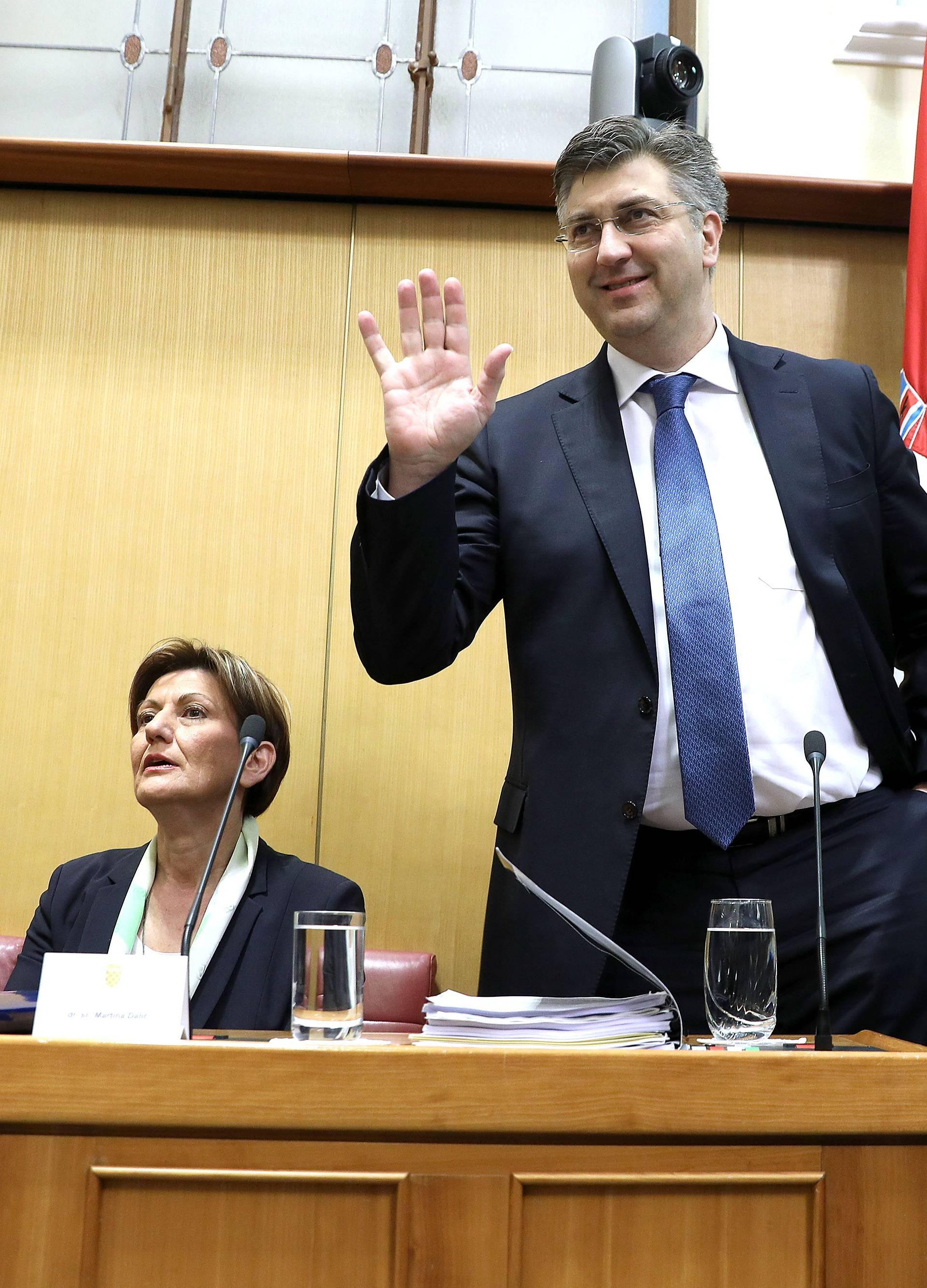 Odletjela je Dalić da se  spasi Plenković. No je li to dovoljno?