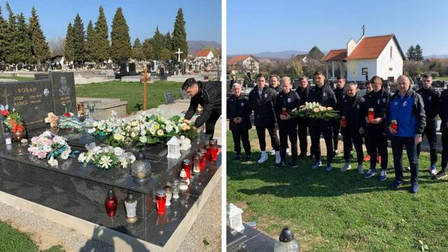 Dan sjećanja na Brunu Bobana: Položili vijenac i zapalili svijeće