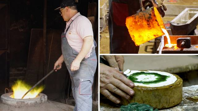 Radi uz peć koja gori na 1250 stupnjeva: 'Volim svoj posao'
