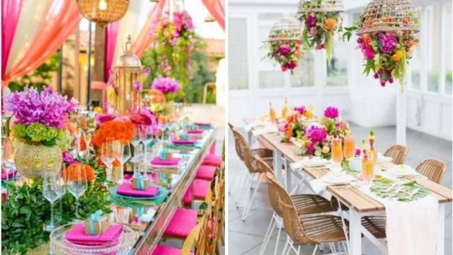 Uređenje stola: Eksplozija boja u kojima će sigurno svi uživati
