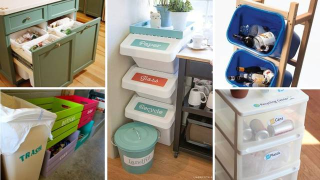 15 ideja kako odvajati smeće ako živite u jako malom stanu