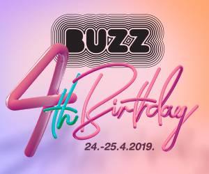 Travanj je mjesec rođendana i rođendanskih popusta u Buzzu