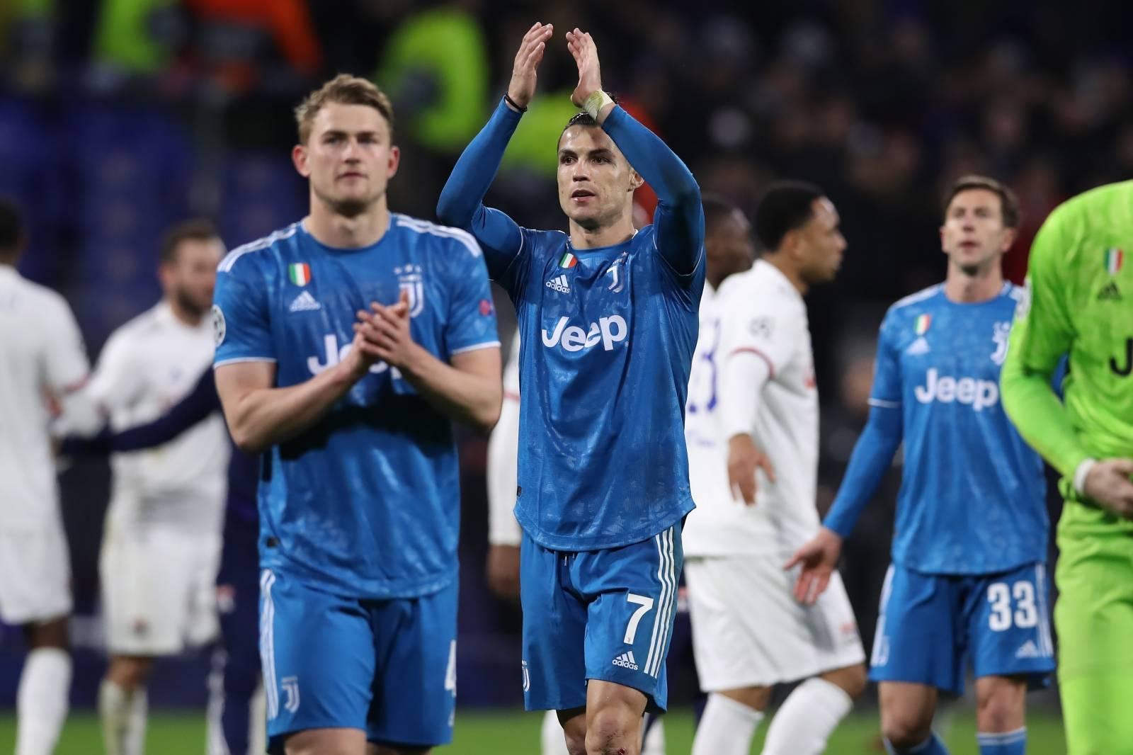 Lyon v Juventus - UEFA Champions League - Round of 16 - First Leg - Groupama Stadium