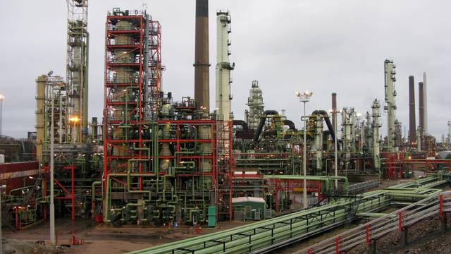 FILE PHOTO: General view of Neste's oil refinery, with a total refining capacity of about 13.5 million tonnes per year, in Porvoo