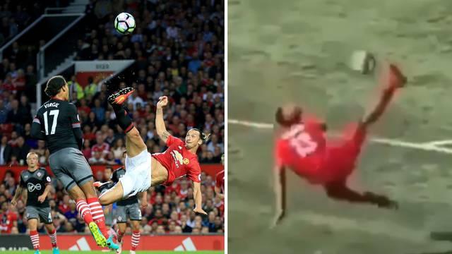Tata, vidi ovo: Ibrahimovićev je sin (13) zabio briljantne škarice!