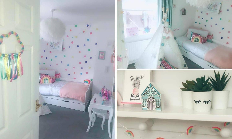 Raj jednoroga: Uredila je sobu za kćer (5) i oduševila internet