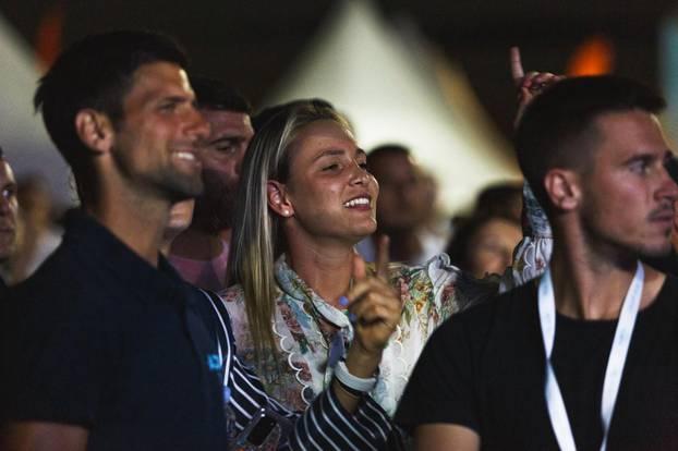 Zadar: Novak Đoković uživao na Gibonnijevom koncertu
