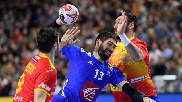 IHF Handball World Championship - Germany & Denmark 2019 - Main Round Group 1 -  France v Spain