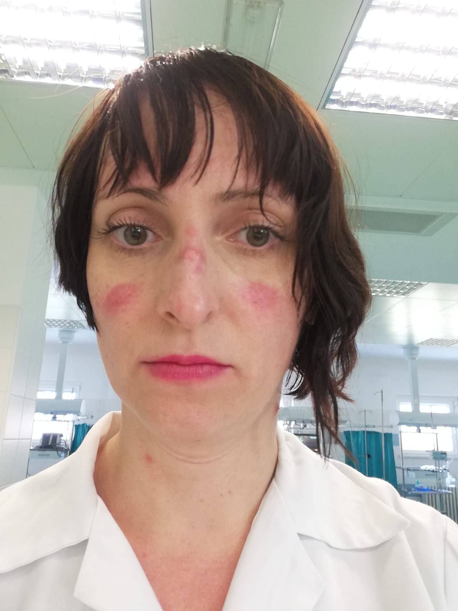 'Ovo je moje lice nakon 5 sati pod maskom, znači li vam išta'