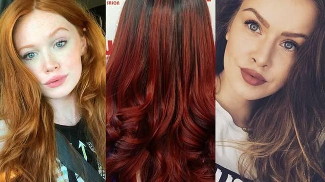 Jesenske nijanse za kosu: Od jarke crvene do hit čokolade