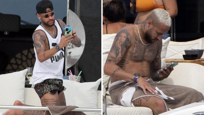 Neymar na jahti uživa s curama, a fanovi primijetili višak kila: 'Ne mogu vjerovati, uništio se'