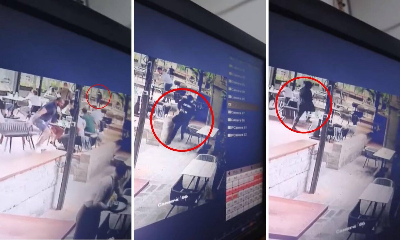 Strava u Beogradu: Strojnicom uletio u kafić i tražio metu