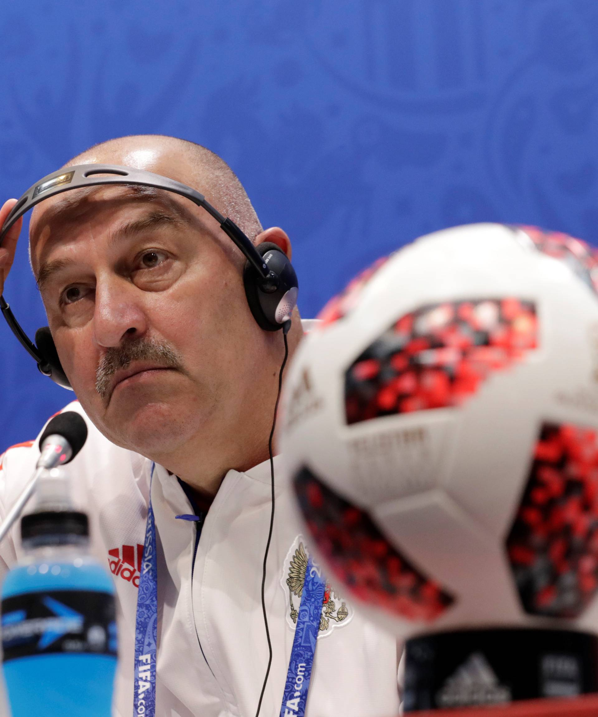 World Cup - Russia Press Conference