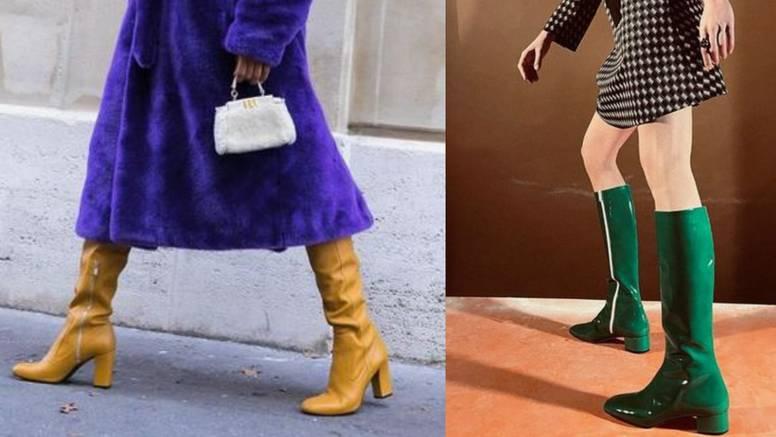 Čizme atraktivnih tonova: Pravo osvježenje stila u sivim danima